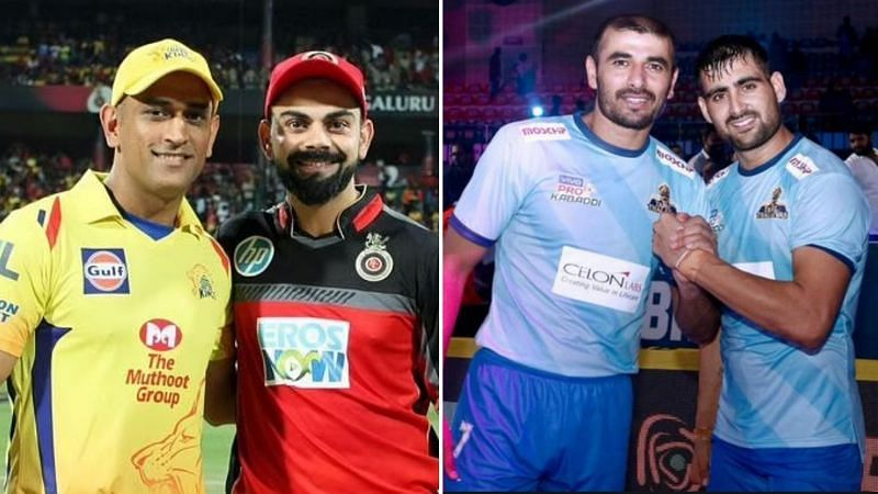 IPL and PKL are two of the biggest leagues in India
