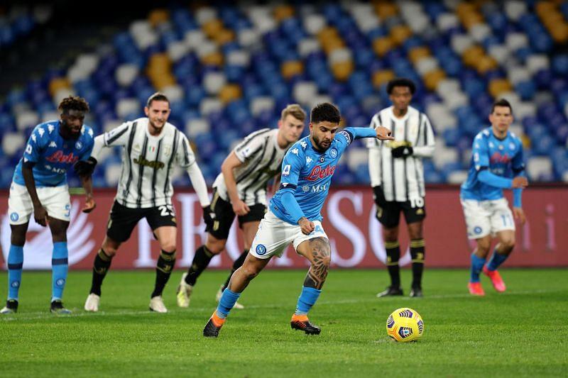 Juventus welcome Napoli to the Allianz Stadium on Wednesday