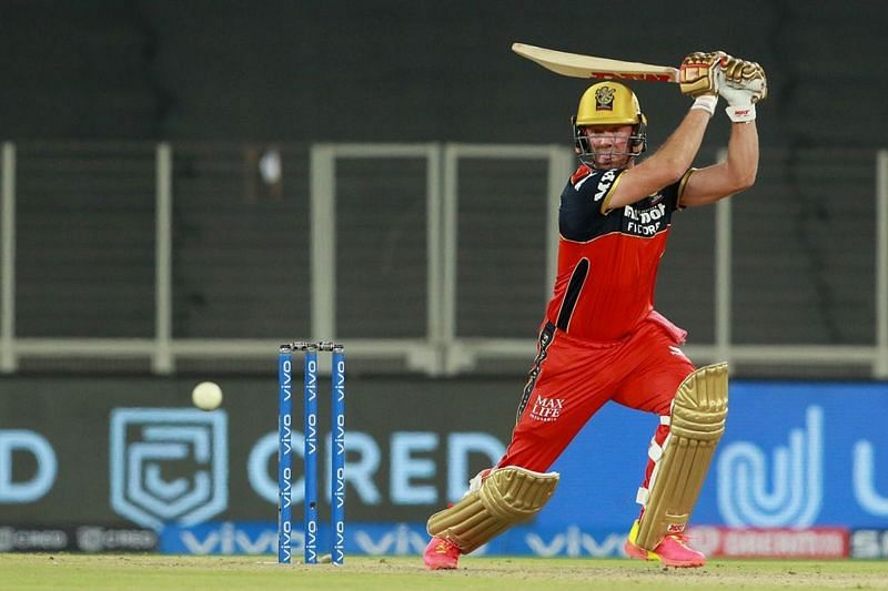 AB de Villiers in action during the Royal Challengers Bangalore