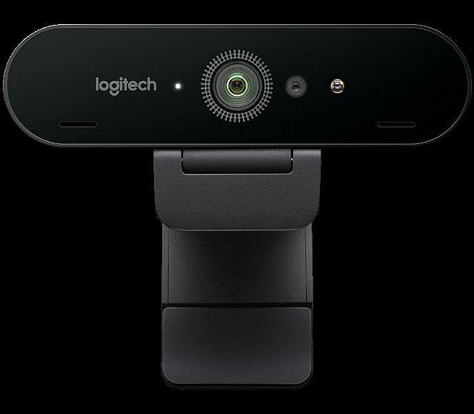 Webcam: Logitech BRIO Ultra HD