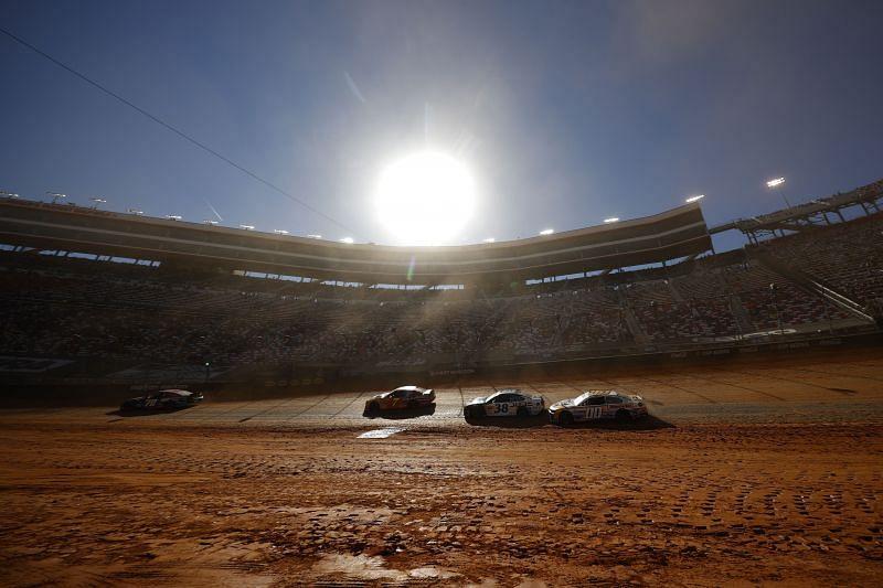 Should NASCAR call their Bristol dirt race a success? Photo: Chris Graythen. Getty images