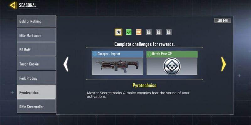 """Pyrotechnics"" feature Scorestreak related tasks (Image via Activision)"