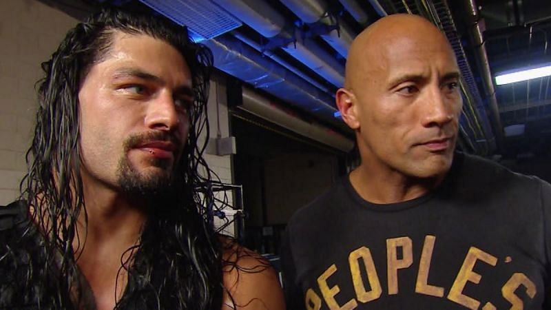 Roman Reigns received help from The Rock to win the 2015 WWE Royal Rumble.