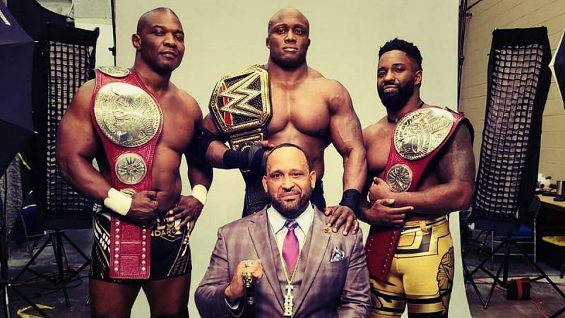 Have Shelton Benjamin and Cedric Alexander split from The Hurt Business split for good? (Credit: WWE)