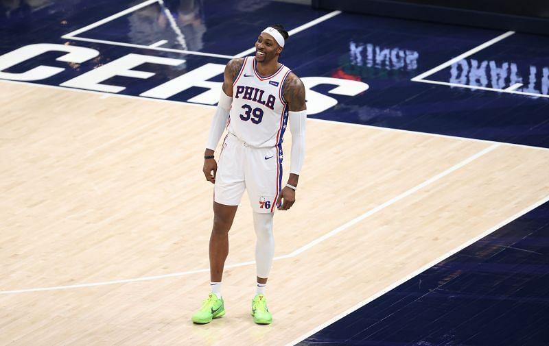 Dwight Howard #39 of the Philadelphia 76ers.