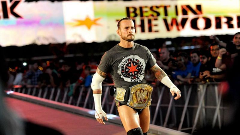 CM Punk was WWE Champion for an astounding 434 days from 2011 until 2013