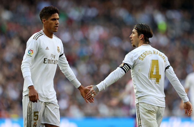 Real Madrid will miss Ramos and Varane at the back