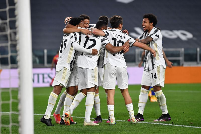 Juventus came away as 3-1 winners against Parma
