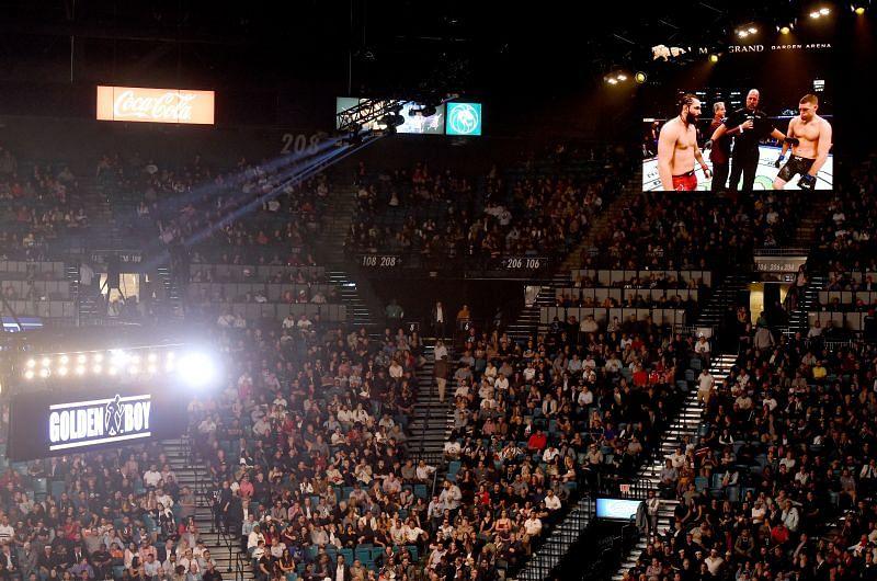 UFC 244 crowd at Madison Square Garden
