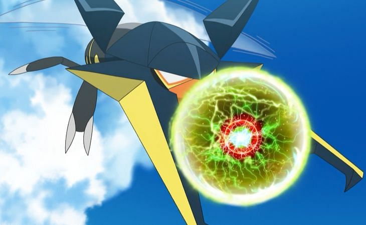 A Pokemon using Zap Cannon in the anime (Image via The Pokemon Company)