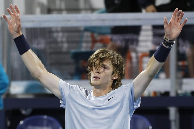 Andrey Rublev has an impressive 20-3 win-loss record for the 2021 season.