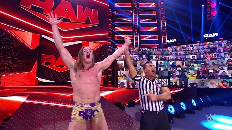 Riddle scores a huge win on WWE RAW, defeating Randy Orton.