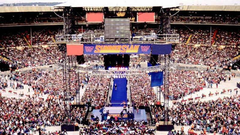 SummerSlam 1992 was a huge success for WWF and the UK (Credit: WWE)