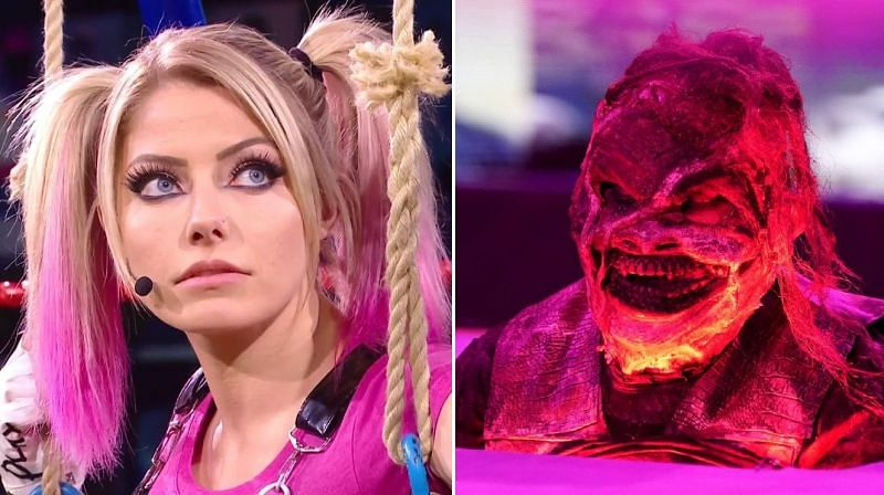 Alexa Bliss and The Fiend