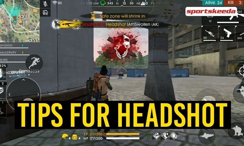 The best tips for landing accurate headshots in Free Fire