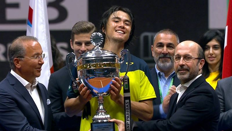 Taro Daniel won his only ATP title at the 2018 Istanbul Open