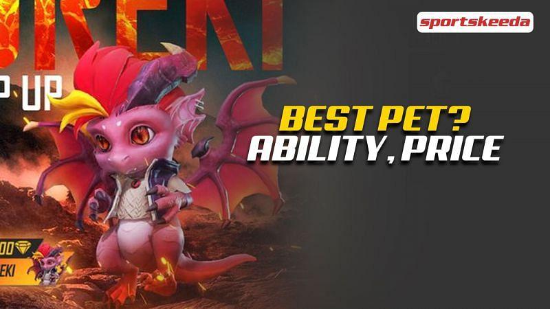 The new Dreki pet was recently launched in Garena Free Fire (Image via Sportskeeda)