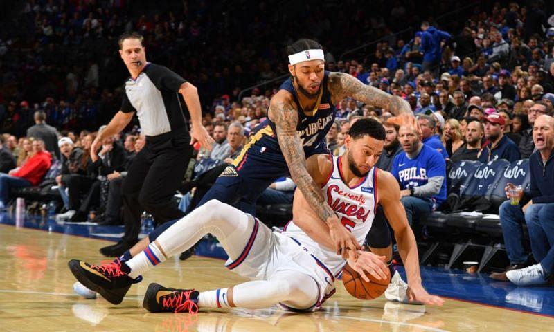 New Orleans Pelicans vs Philadelphia 76ers