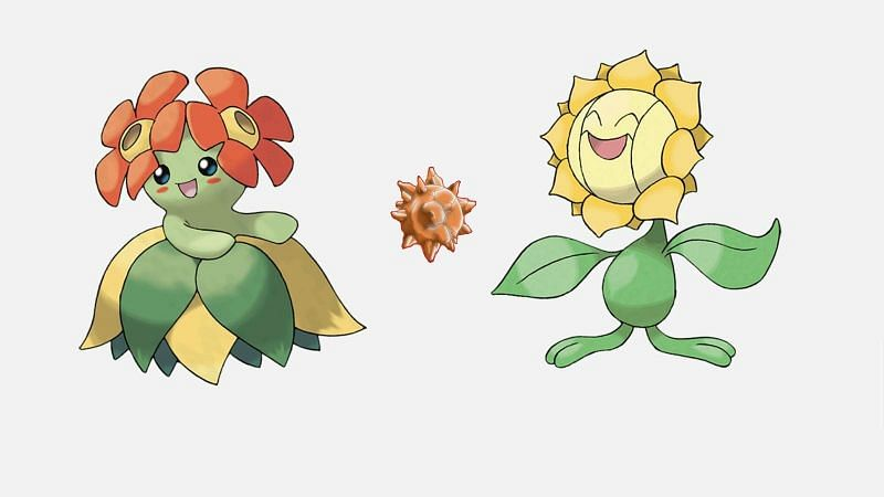 Only five Pokemon require the Sun Stone to evolve in any game (Image via The Pokemon Company)