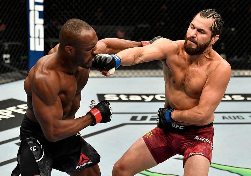 Jorge Masvidal and Kamaru Usman are set to clash at UFC 261