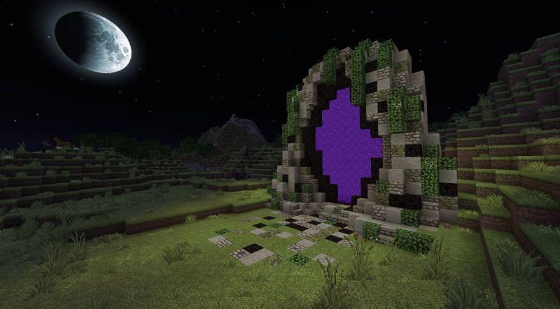 Large Nether Portal (Image via Reddit)