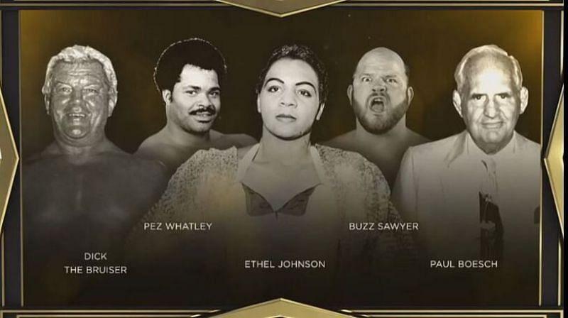 The 2021 WWE HOF Legacy Class