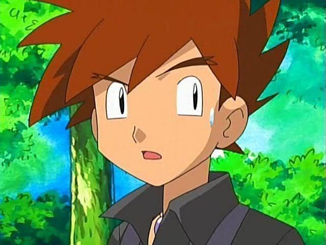 Gary Oak in the anime (Image via The Pokemon Company)