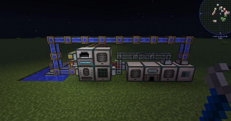 Shown: An efficiently powered machine setup (Image via u/drhead on Reddit)
