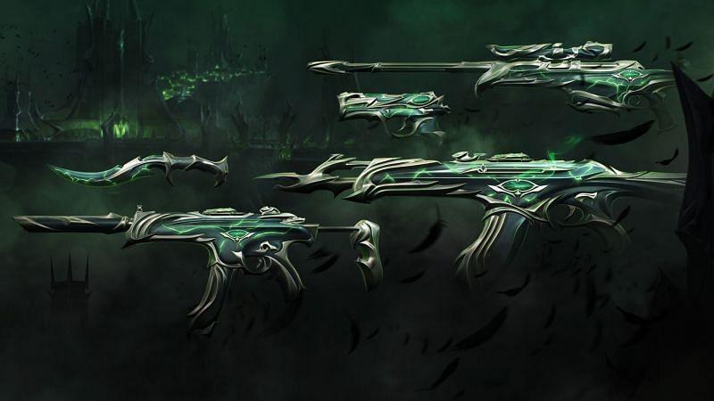 The Forsaken skin bundle in Valorant (Image via Riot Games)