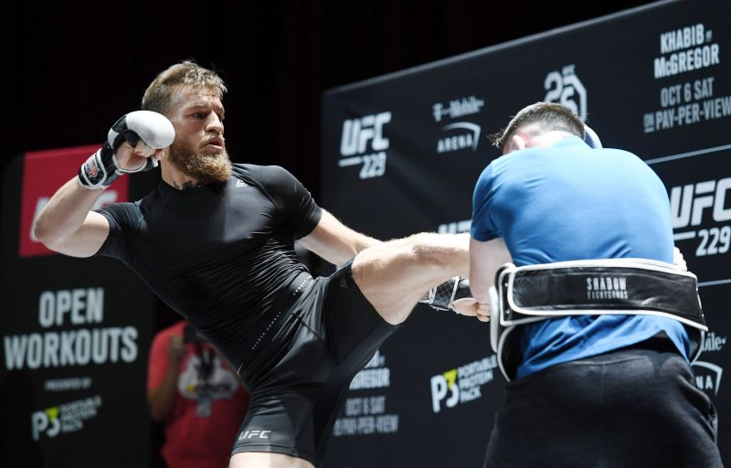 UFC 229 Khabib v McGregor: Open Workouts