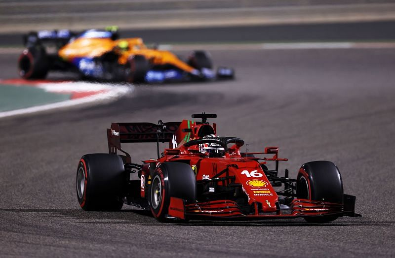 Charles Leclerc had a solid start to the season in Bahrain. Photo: Lars Barron/Getty Images.