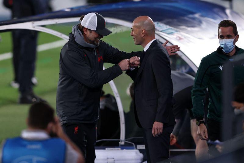 Zidane got the better of Klopp on the night