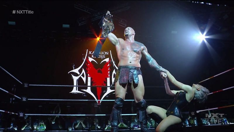 Karrion Kross became a two-time NXT Champion tonight at TakeOver: Stand & Deliver.