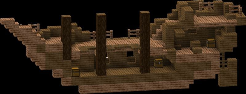 Shipwrecks in Minecraft can contain a lot of useful resources, including bamboo (Image via Minecraft Forum)