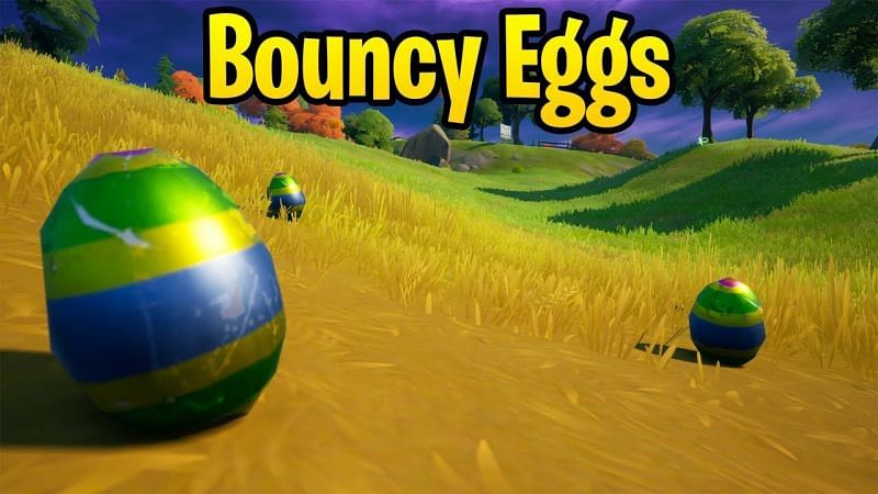 Fortnite Easter Egg locations: Where to find bouncy eggs (Image via Kanga,)