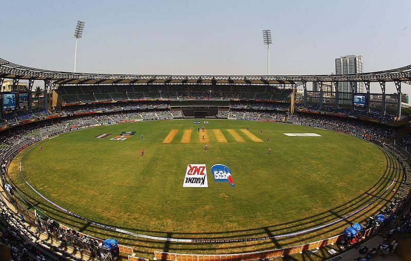 Wankhede Stadium will host ten matches of IPL 2021