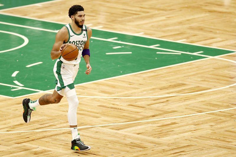 Jayson Tatum #0 of the Boston Celtics