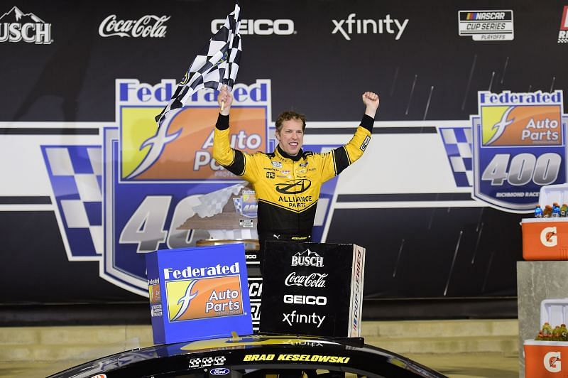 Brad Keselowski will look to go back-to-back at Richmond Raceway. (Photo by Jared C. Tilton/Getty Images)