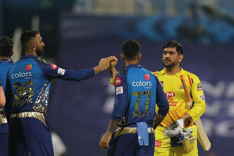 The Mumbai Indians will battle the Chennai Super Kings in Match 27 of IPL 2021 (Image Courtesy: IPLT20.com)