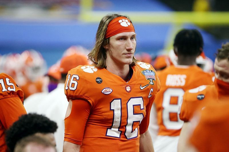 CFP Semifinal at the Allstate Sugar Bowl - Clemson v Ohio State. QB Trevor Lawrence will be taking the field clad in the teal of the Jacksonville Jaguars next season