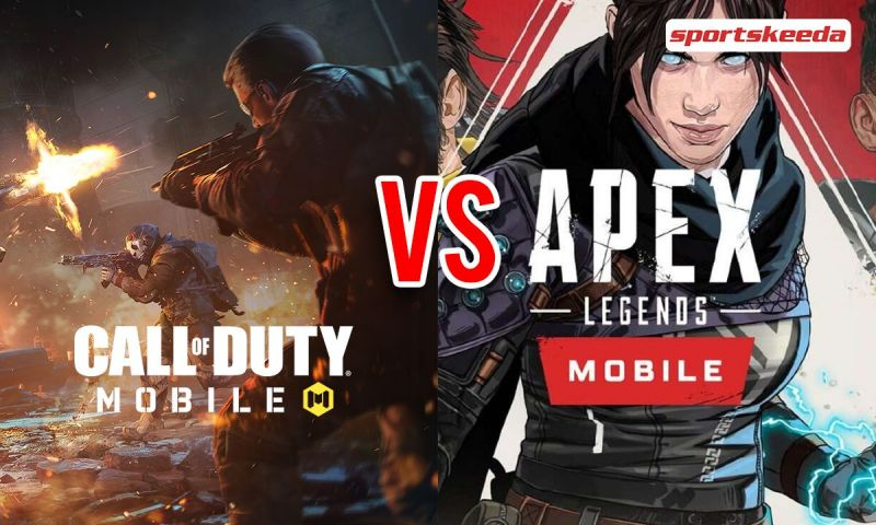 Top 5 differences between Apex Legends and COD Mobile