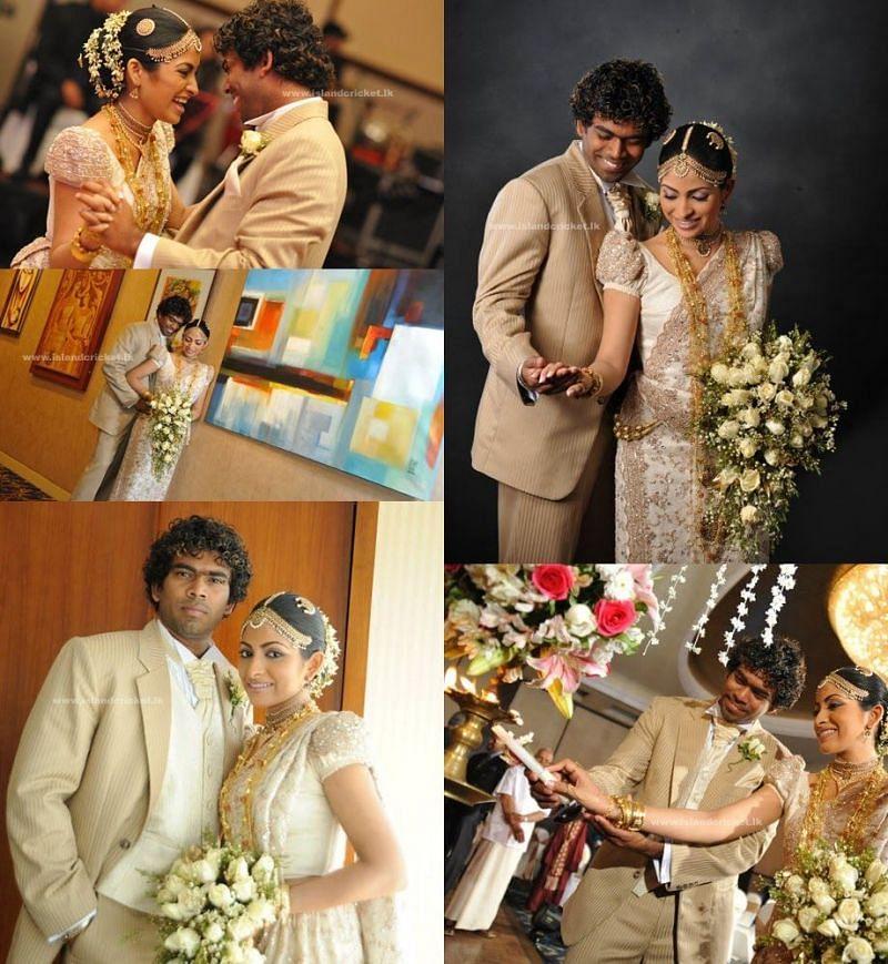 Lasith Malinga's Wedding Photos