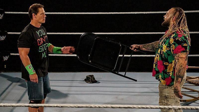 WWE सुपरस्टार जॉन सीना और ब्रे वायट