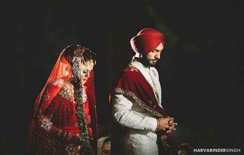 Mandeep Singh and Jagdeep Jaswal's Marriage Rituals Pics