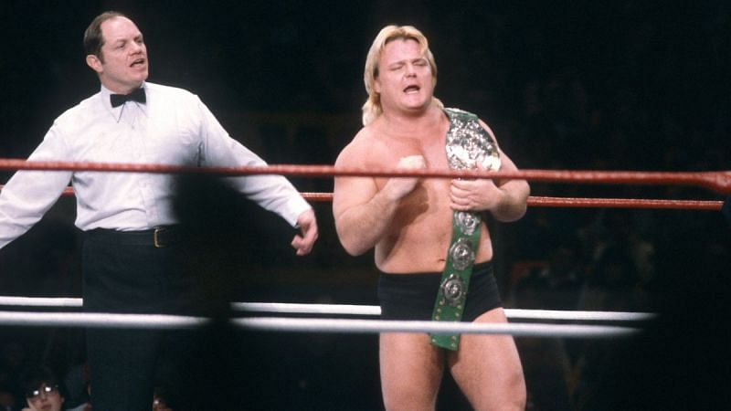 Greg Valentine was inducted into the WWE Hall of Fame in 2004