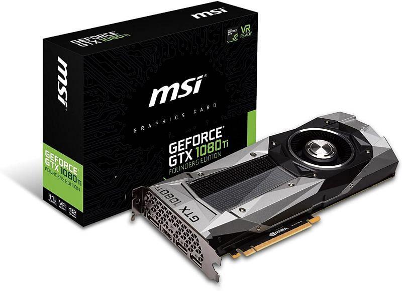 GPU: GeForce 1080Ti