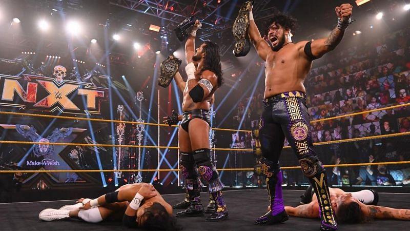 Legado del Fantasma made a clear statement on WWE NXT