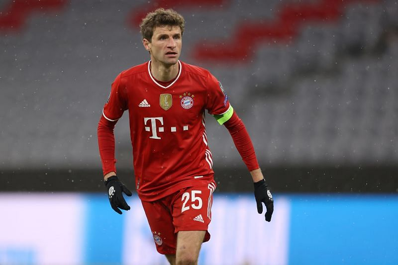 Thomas Muller will have to lead the Bayern Munich attacking line in the absence of Robert Lewandowski