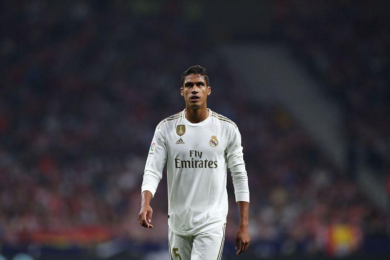 Raphael Varane in Real Madrid colours