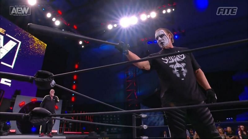 Sting closed out the show with his signature baseball bat